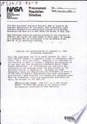 Procurement Regulation Directive