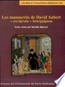 Les manuscrits de David Aubert