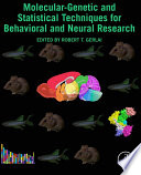Molecular Genetic and Statistical Techniques for Behavioral and Neural Research