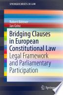 Bridging Clauses in European Constitutional Law