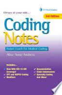 Coding Notes Pocket Coach for Medical Coding