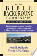 The IVP Bible Background Commentary
