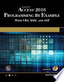 Microsoft Access 2016 Programming By Example