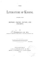 Book The Literature of Kissing