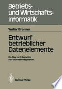 Entwurf betrieblicher Datenelemente