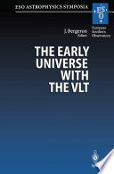 The Early Universe with the VLT