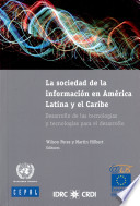 La sociedad de la informaci  n en Am  rica Latina y el Caribe