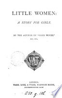 Little Women By The Author Of Good Wives  book