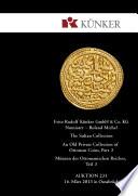 Künker Auktion 231 - The Sultan Collection – Münzen des Ottomanischen Reiches, Teil 3
