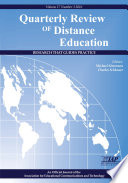 Quarterly Review of Distance Education  Research That Guides Practice  Vol 17 No 3 2016