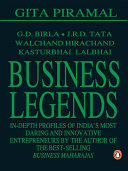 Business Legends Seems In Retrospect Lasted From 1951