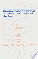 Site Based Management In Education