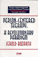 Person-centred Therapy Twenty Revised Papers And New Writings On Person Centred