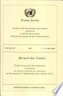 United Nations Treaty Series Volume 2292 (2004)