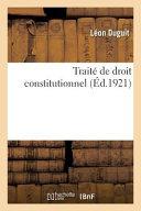 Trait De Droit Constitutionnel