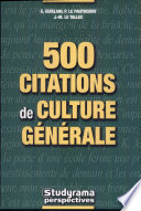 500 citations de culture g  n  rale