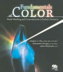 Fundamentals Of Color : color to help the reader better...