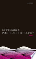 Oxford Studies in Political Philosophy