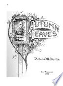 Autumn Leaves Book PDF