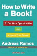 How to Write a Book  Book PDF