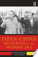 Japan   China Relations in the Modern Era