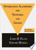 Optimization Algorithms for Networks and Graphs  Second Edition