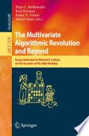 The Multivariate Algorithmic Revolution And Beyond book