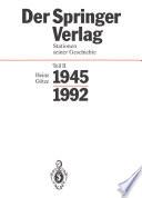 Der Springer Verlag book