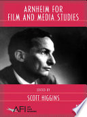 Arnheim For Film And Media Studies book