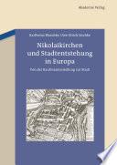 Nikolaikirchen und Stadtentstehung in Europa
