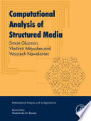 Computational Analysis Of Structured Media book