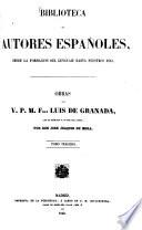 Obras del V  P  M  Fray Luis de Granada0