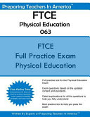 Ftce Physical Education K 12 063