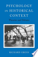 Psychology in Historical Context