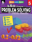 180 Days of Problem Solving for Fifth Grade  Practice  Assess  Diagnose  ePub 3