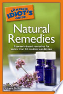The Complete Idiot s Guide to Natural Remedies