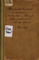 Chronologisches verzeichniss sämmtlicher von dem verstorbenen prof. Aug. Wilh. von Schlegal verfassten und herausgegebenen druckschriften