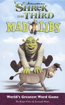Shrek the Third Mad Libs
