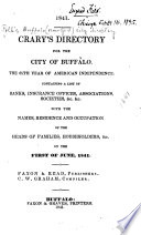 Polk s Buffalo  New York  City Directory