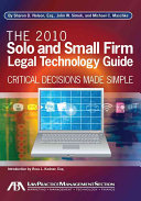 Solo and Small Firm Legal Technology Guide