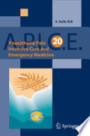 Anaesthesia  Pain  Intensive Care and Emergency Medicine   A P I C E