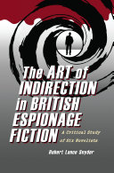 The Art of Indirection in British Espionage Fiction Book
