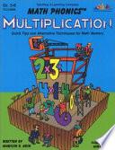 Math Phonics   Multiplication