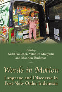 Words In Motion book