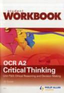 OCR A2 Critical Thinking