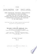 The Dolmens of Ireland
