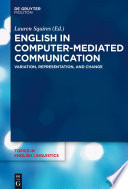 English in Computer Mediated Communication