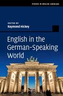 English In The German Speaking World