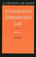An Introduction to Administrative Law