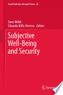Subjective Well Being And Security